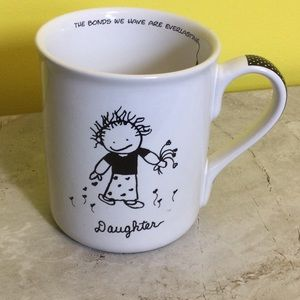 FIRM Vintage Children of Light Daughter large mug